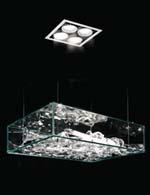 Hotel Licht UPPERGLASS -Design Deckenleuchte Chandelier Coffin