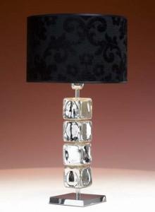 Hotel Licht_Tischleuchte Glas_75020 Wonky Cubes