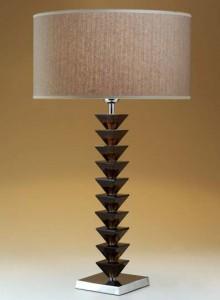 Hotel Licht_Tischleuchte Glas_75189 Pyramids