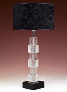 Hotel Licht_Tischleuchte Glas_75240 Iceflowers